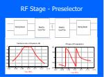 rf stage preselector