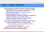 goal 1 better numerics2