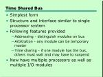time shared bus