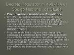decreto regulador n 49974 a 61 c digo nacional da sa de1