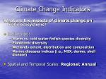 climate change indicators32