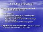 fisheries indicators