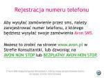 rejestracja numeru telefonu