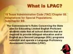 19 texas administrative code tac chapter 89 adaptations for special populations subchapter bb