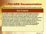 lpac ard documentation1