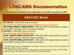 lpac ard documentation3