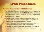 lpac procedures10