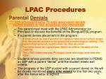 lpac procedures11