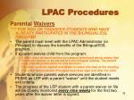 lpac procedures12