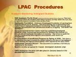 lpac procedures16