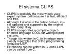 el sistema clips1