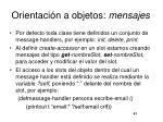 orientaci n a objetos mensajes1