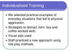 individualised training1