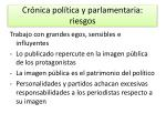 cr nica pol tica y parlamentaria riesgos1