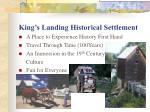 king s landing historical settlement