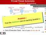 priced timed automata optimal scheduling
