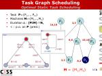 task graph scheduling optimal static task scheduling1