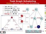 task graph scheduling power optimal static task scheduling