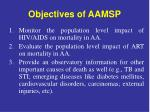 objectives of aamsp