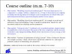 course outline m m 7 10