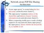 network aware p2p file sharing architecture2