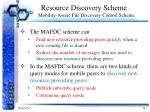 resource discovery scheme mobility aware file discovery control scheme1