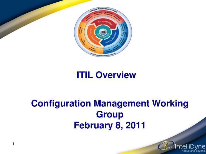 itil overview n.