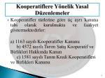 kooperatiflere y nelik yasal d zenlemeler1