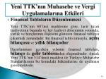 yeni ttk n n muhasebe ve vergi uygulamalar na etkileri11
