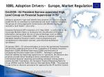 xbrl adoption drivers europe market regulation1