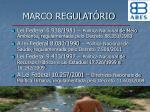marco regulat rio