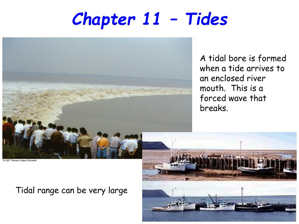 Chapter 11 – Tides