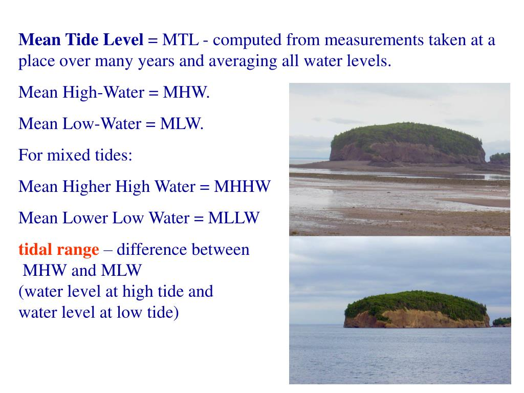 Mean Tide Level