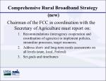 comprehensive rural broadband strategy new