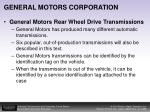 general motors corporation2