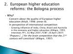 european higher education reforms the bologna process2
