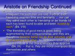 aristotle on friendship continued1