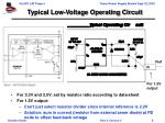 typical low voltage operating circuit