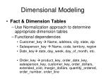 dimensional modeling2