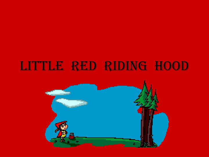 little red riding hood n.