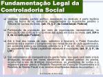 fundamenta o legal da controladoria social1