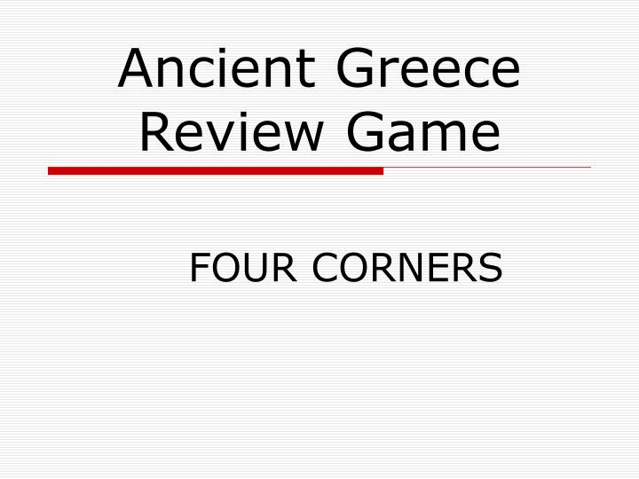 ancient greece review game n.