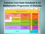 common core state standards k 12 mathematics progression of domains