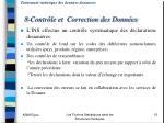 traitement statistique des donn es douaniers 8 contr le et correction des donn es