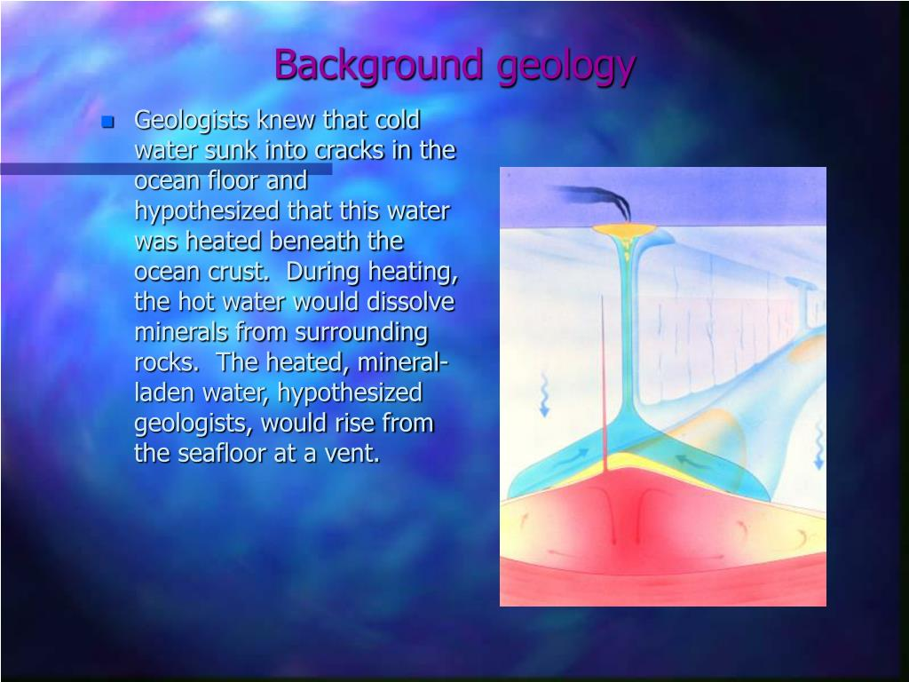 Background geology