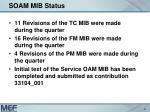 soam mib status1