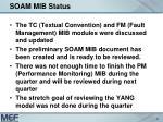 soam mib status3