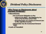 dividend policy disclosures2