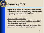 evaluating icfr1