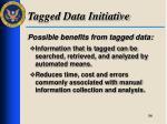 tagged data initiative1